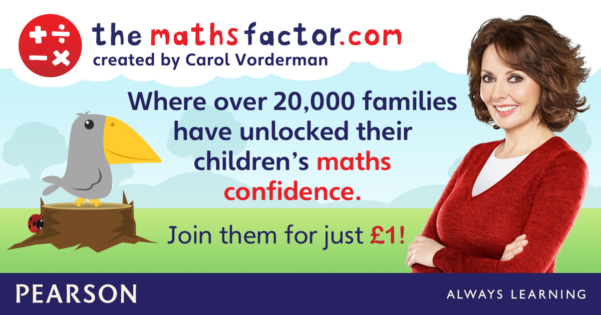 The Maths Factor:  Give the Gift of Math