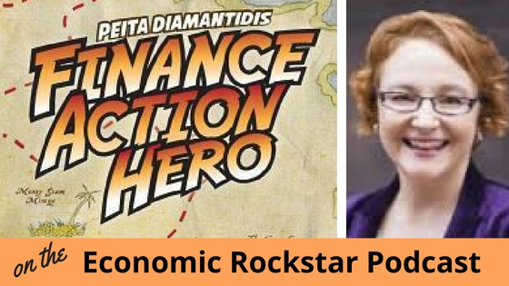 097: Peita Diamantidis on Being a Finance Action Hero and Gamifying How You Manage Your Finances